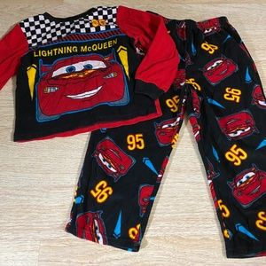 Disney Pixar Cars Lightning McQueen Toddler PJs